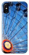 Boardwalk Ferris Wheel At Dusk IPhone Case