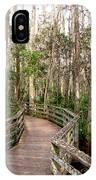 Boardwalk Through Corkscrew Swamp IPhone Case