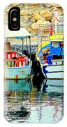 Happy And Colorful Boats In Their Own Company  IPhone X Case
