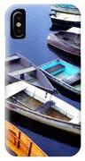 Boat Dock Camp Ellis IPhone Case