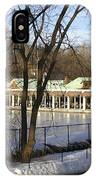 Boat House Central Park Ny IPhone Case