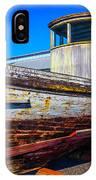 Boat In Dry Dock IPhone Case