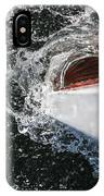 Boat In Water IPhone Case