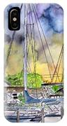 Boat Marina IPhone Case