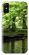 Boat On A Lake IPhone Case