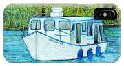 Boat On The River IPhone Case