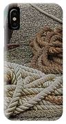 Boat Ropes IPhone Case