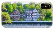 Boathouse Row - Framed In Spring IPhone Case
