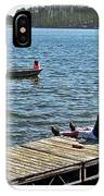Boating And Sitting On The Dock IPhone Case