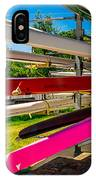 Boats At Dallas Rowing Club IPhone Case