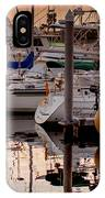 Boats At Sunset IPhone Case