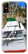 Boats In Drydock IPhone Case