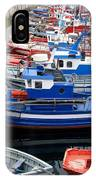 Boats In Norway IPhone Case