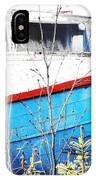 Boats In The Garden IPhone Case