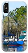 Boats In The Water IPhone Case