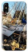 Boats Of Sandy IPhone Case