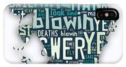 Bob Dylan Blowin In The Wind IPhone Case