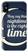 Bob Dylan Song Lyrics Quotes Art Typography IPhone Case
