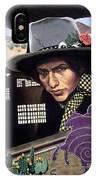 Bob Dylan Surreal Desert IPhone Case