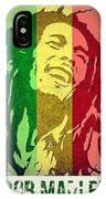 Bob Marley II IPhone Case