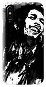 Bob Marley Silhouette   IPhone Case