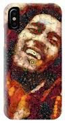 Bob Marley Vegged Out IPhone Case