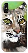 Bobcat Katta IPhone Case
