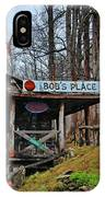 Bobs Place IPhone Case