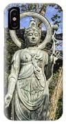 Boddhisattva Buddhist Deity - Kyoto Japan IPhone Case