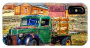Bodie Ghost Town Green Truck IPhone X Case