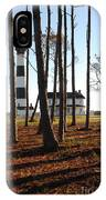 Bodie Island Light Through The Pines IPhone Case