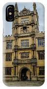 Bodleian Library Main Gate IPhone Case