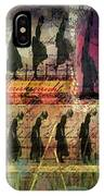 Body In Motion IPhone Case by Delight Worthyn