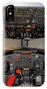 Boeing C-135 Cockpit IPhone Case