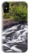 Bog River Cascade IPhone Case