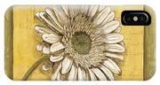 Bohemian Daisy 1 IPhone X Case