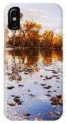 Boise River Autumn Glory IPhone Case