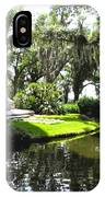 Bok Tower With Moat IPhone Case