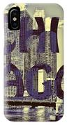 Bold Chicago IPhone Case