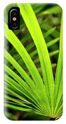 Bold Fronds 0 IPhone Case