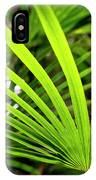 Bold Fronds 1 IPhone Case