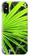 Bold Fronds 3 IPhone Case