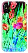 Bold Tulips IPhone Case