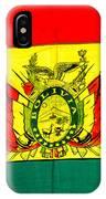 Bolivian Flag IPhone Case