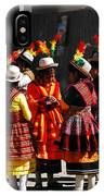 Bolivian Typical Costume IPhone Case