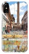 Bologna Artworks Of The City Hanging In  IPhone Case