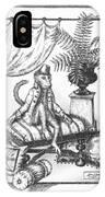 Bombay Monkey I IPhone Case