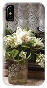 Bonbons White Hydrangeas France IPhone Case
