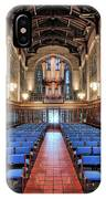Bond Chapel Pipes View IPhone Case