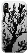 Bonsai Black And White IPhone Case